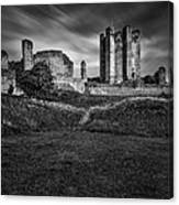 Conisbrough Castle Doncaster Canvas Print