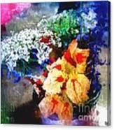 Conjuring Claude Monet Canvas Print