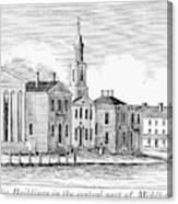 Connecticut Middletown Canvas Print