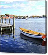 Connecticut Mystic Seaport Canvas Print