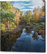 Connecticut Sunset Canvas Print