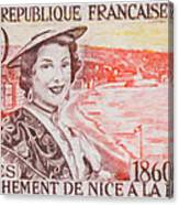 Connecting The Nice France 1860-1960 Canvas Print