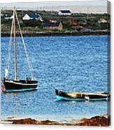 Connemara Boats Canvas Print