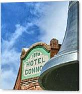 Conner Hotel Canvas Print