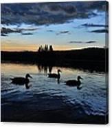 Conneticut Lake Canvas Print
