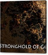 Connor - Stronghold Of God Canvas Print