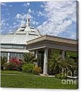 Conservatory At The Huntington Library Canvas Print