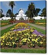 Conservatory Of Flowers Canvas Print