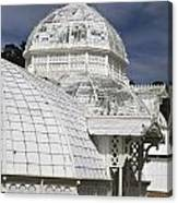 Conservatory Of Flowers Gate Park Canvas Print