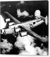 Consolidated B-24 Liberator Heavy Bomber Canvas Print
