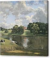 Constable's Wivenhoe Park In Essex Canvas Print