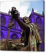 Constantine The Emperor At Yorkminster Canvas Print