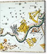 Constellation: Hydra Canvas Print