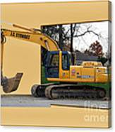 Construction Equipment 01 Canvas Print