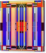 Constructive Color Canvas Print