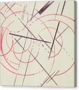 Constructivist Composition, 1922 Canvas Print