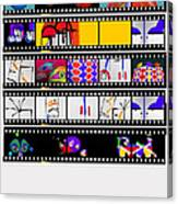 Contact Sheet Canvas Print