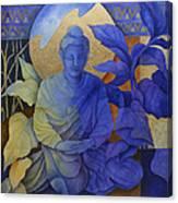 Contemplation - Buddha Meditates Canvas Print