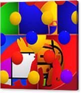 Contemporary Art Canvas Print