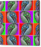Contemporary Pelicans II Canvas Print