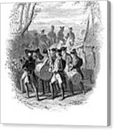 Continental Army Band Canvas Print