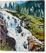 Continental Falls Canvas Print
