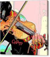 Contorno Fiddle II Canvas Print
