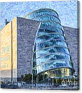 Convention Centre Dublin Republic Of Ireland Canvas Print