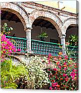 Convento De La Popa Cartagena Canvas Print