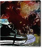 Converse Sports Shoes Canvas Print