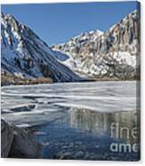 Convict Lake Morning Canvas Print