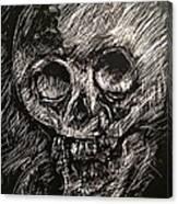 Convulsed Memento Mori  Canvas Print