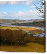 Conwy River Canvas Print