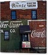 Conyers Advertisements Canvas Print