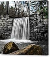 Cook Forest Waterfall Canvas Print