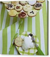 Cookies And Icing Canvas Print