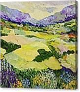 Cool Grass Canvas Print