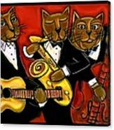 Cool Jazz Cats Canvas Print