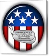 Cool National Guard Insignia Canvas Print