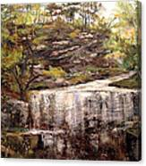 Cool Waterfall Canvas Print