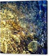 Cool Waters...of The Rifle River Canvas Print