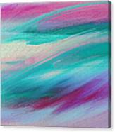 Cool Waves - Abstract - Digital Painting Canvas Print