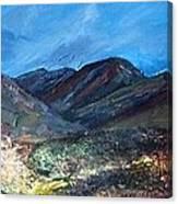 Coolin From Sligachan - Skye Canvas Print