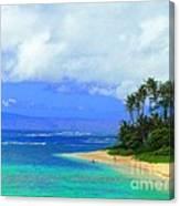 Cooling Off Hawaiian Style Canvas Print