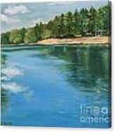 Cooling Waters Canvas Print