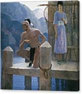 Cooper: Deerslayer, 1925 Canvas Print