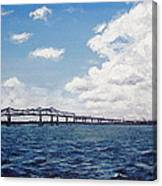 Cooper River Bridge Canvas Print
