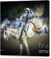 Cooper Rodeo Bronc Rider Canvas Print