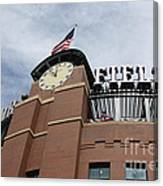 Coors Field 1 Canvas Print