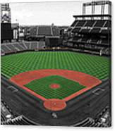 Coors Field 2 Canvas Print